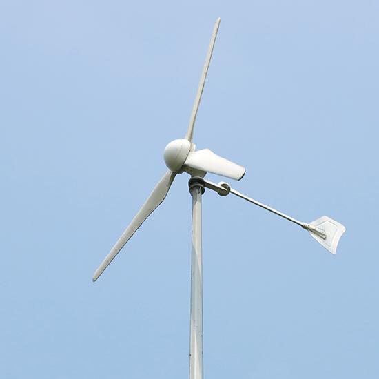 系统可输出单相电或三相电,1kw离网风力发电机可带动1kw以内的电阻性