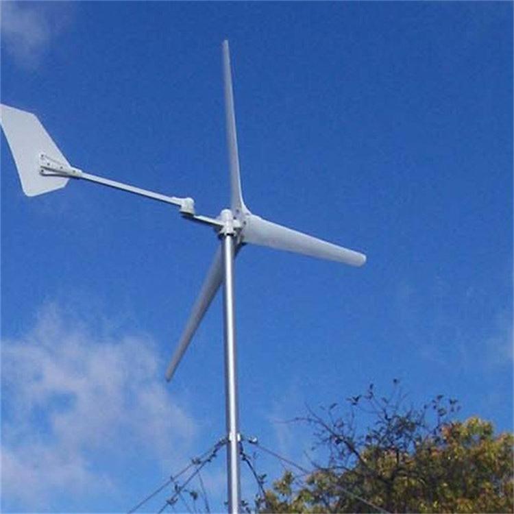系统可输出单相电或三相电,500w离网风力发电机可带动500w以内的电阻
